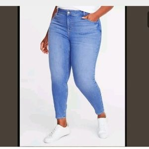 NEW high waist super skinny rockstar Jean's 26